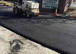 asphalt parking paving