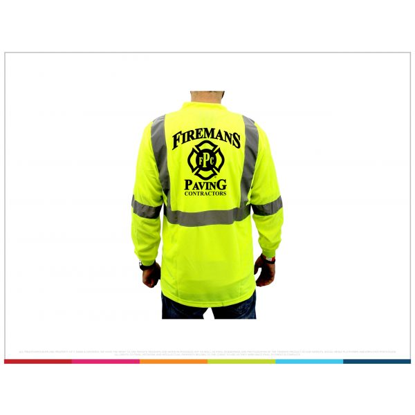 Yellow SAFETY APPAREL vest